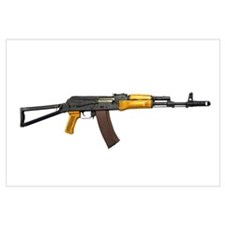 Russian AK-74 5.54mm assault rifle, new caliber