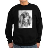 Black and Tan Coon Hound Sweatshirt