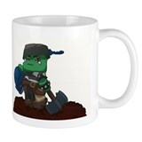 Chibi Ork Pot Head Small Mug