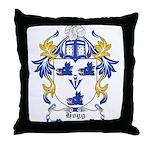Hogg Coat of Arms Throw Pillow