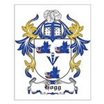 Hogg Coat of Arms Small Poster