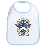 Hodge Coat of Arms Bib