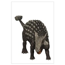 Ankylosaurus was an armored dinosaur from the Crea