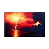 Fire in the Sky Decal Wall Sticker