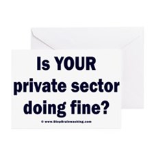 Your Private Sector Greeting Cards (Pk of 20)