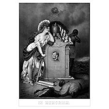 Digitally restored Civil War print showing Lady Li