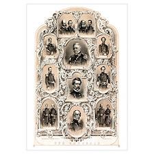 Digitally restored early Civil War print from 1862