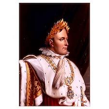 Digitally restored vector artwork of Napoleon Bona