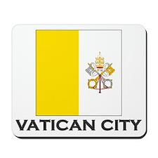 Vatican City Flag Stuff Mousepad