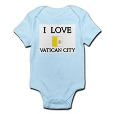 I Love Vatican City Infant Creeper