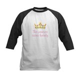 """This Princess Saves Herself"" Baseball Jersey"