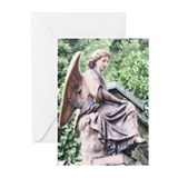 Red Angel Greeting Cards (Pk of 10)