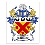 Hartside Coat of Arms Small Poster