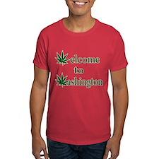 Welcome to Washington Marijuana T-Shirt