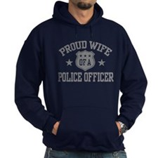 Proud Wife of a Police Officer Hoodie