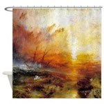 Slave Ship by Turner Shower Curtain