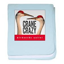 Crane Crazy baby blanket