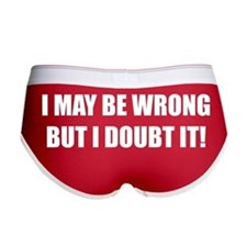 I may be wrong but I doubt it Women's Boy Brief