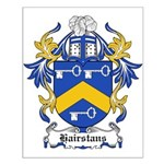 Hairstans Coat of Arms Small Poster