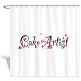 Cake Artist Shower Curtain