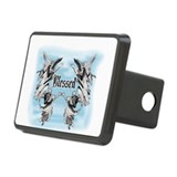 Cute Angel Rectangular Hitch Cover