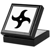 Throwing ninja star Keepsake Box