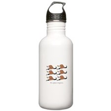 Six geese a-laying... Water Bottle