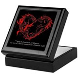 Cute Spiritual birthday Keepsake Box