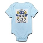 Hadwick Coat of Arms Infant Creeper
