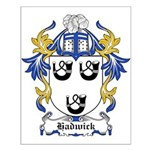 Hadwick Coat of Arms Small Poster
