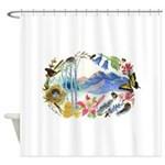 Mountain Wildflowers Shower Curtain
