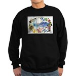 Mountain Wildflowers Sweatshirt (dark)