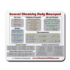 Chemistry Study Tables Mousepad