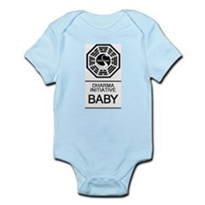 Cute Dharma initiative Infant Bodysuit