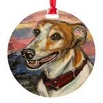 Portrait of Cadbury Round Ornament