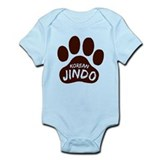 Korean Jindo Paw Print Onesie