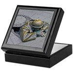 Coming up for air in Slovakia Keepsake Box
