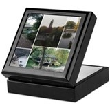 Naperville Riverwalk Keepsake Box