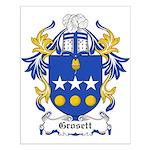 Grosett Coat of Arms Small Poster