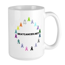 BEATCANCER.NET Logo Mug