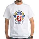 Grey Coat of Arms, Family Cre White T-Shirt