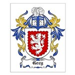 Grey Coat of Arms, Family Cre Small Poster