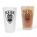 P.A.O.K Drinking Glass