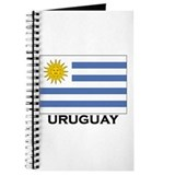 Uruguay Flag Merchandise Journal