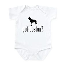 Boston Terrier Infant Creeper