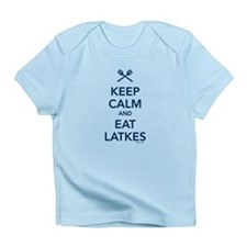 Keep Calm and Eat Latkes Infant T-Shirt