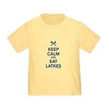 Keep Calm and Eat Latkes T