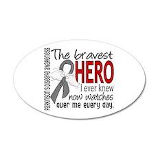 Bravest Hero I Knew Parkinsons 20x12 Oval Wall Dec