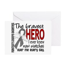 Bravest Hero I Knew Parkinsons Greeting Cards (Pk