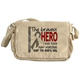 Bravest Hero I Knew Parkinsons Messenger Bag